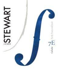 Stewart Calculus Early Transcendentals 7th txtbk