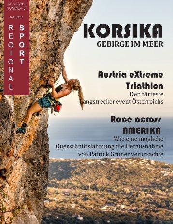 Regionalsport Nummer drei Herbstausgabe