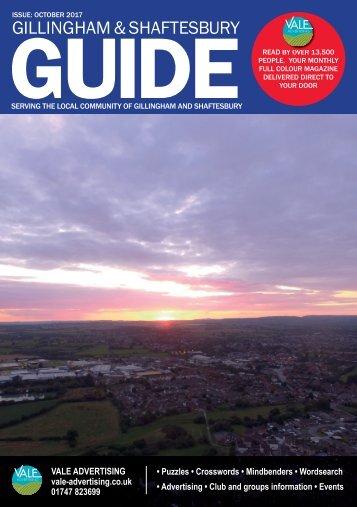 Gillingham & Shaftesbury Guide October