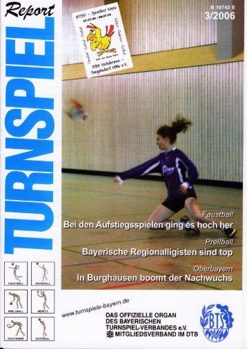Faustball - Bayerischer Turnspiel- Verband