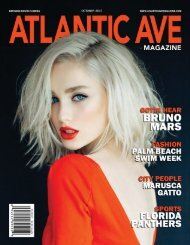 Atlantic Ave Magazine - October 2017