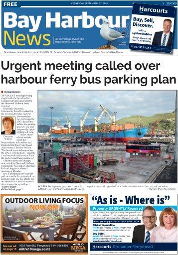 Bay Harbour: September 27, 2017