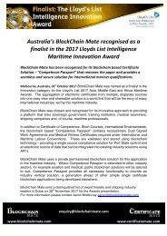 Lloyds Nomination Press Release