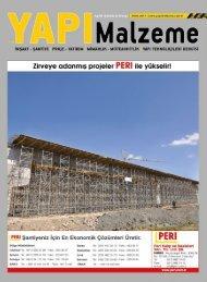 Yapı Malzeme Dergisi Ekim 2017 Sayısı