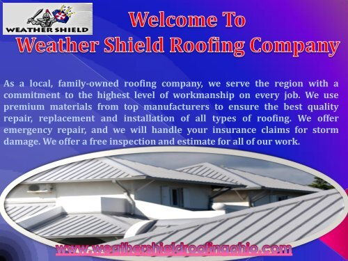 Roofing Contractor Dayton, OH