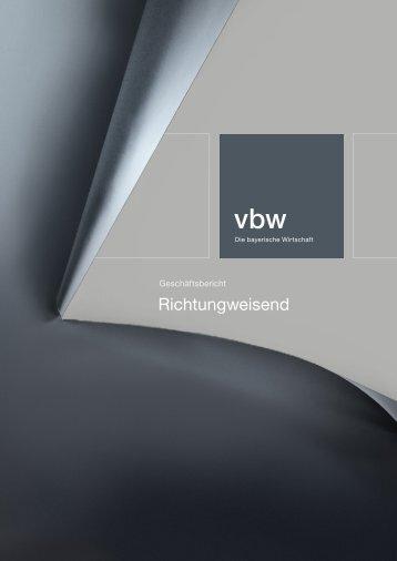 Download ( PDF - 7 MB ) - Vereinigung der Bayerischen Wirtschaft