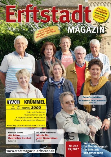 Erftstadt Magazin September 2017