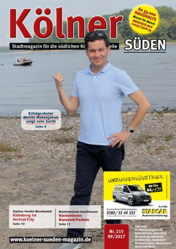 Kölner Süden Magazin September 2017
