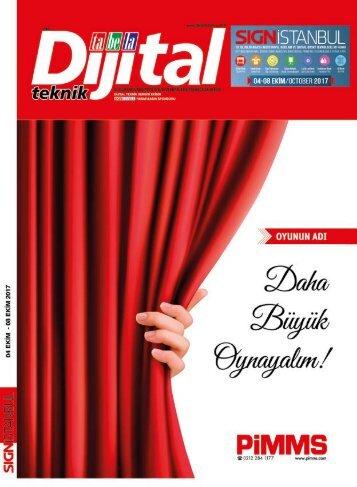 Dijital Teknik - SignIstanbul Ek - Eylül17