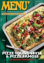 MENU Speciale Pizze - Settembre 2017