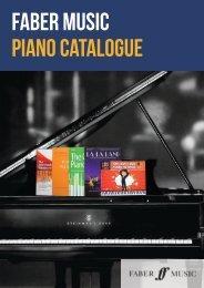 Piano Catalogue