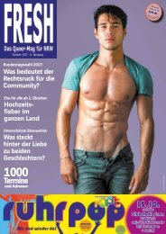 FRESH-Magazin Oktober 2017