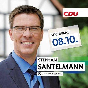 Unser Landratskandidat Stephan Santelmann