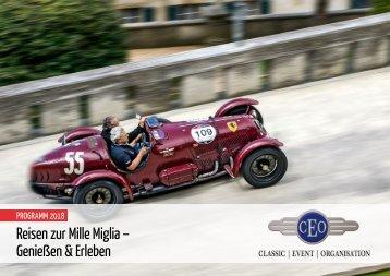 Reisen zur Mille Miglia – Genießen & Erleben