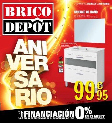 Folleto BRICODEPOT ANIVERSARIO hasta 31 de Octubre 2017