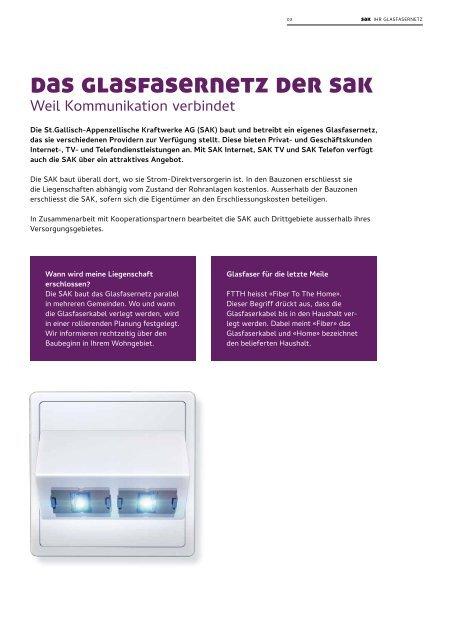 SAKnet - Ihr Glasfasernetz