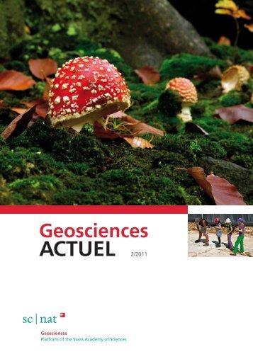 ACTUEL 2/2011 - Platform Geosciences - SCNAT