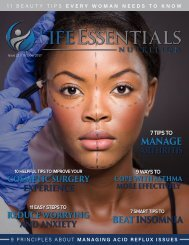 Life Essentials Magazine - October 2017