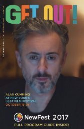 Get Out! GAY Magazine – Issue 336– October 4, 2017