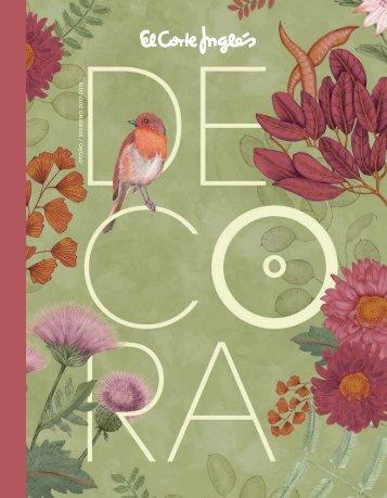Catálogo El Corte Inglés DECORA Otoño-Invierno 2017