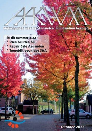 Wijkblad Aakwaa oktober 2017