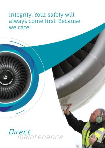 Direct Maintenance Company Brochure