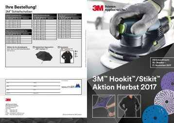 3M Herbstaktion Schleifmittel