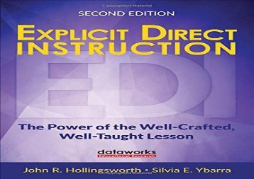 Explicit-Direct-Instruction-EDI-The-Power-of-the-WellCrafted-WellTaught-Lesson