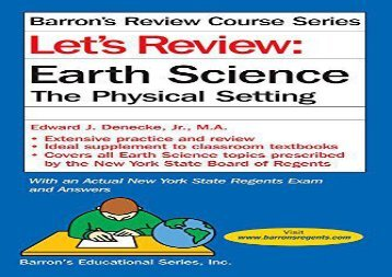 Let-s-Review-Earth-Science-The-Physical-Setting-Let-s-Review-Series