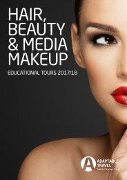 Hair, Beauty & Media Makeup Brochure 2017 by Adaptable Travel