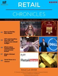 retail chronicles 5th edition