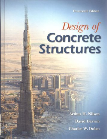 Design of Concrete Structures 14th Nilson Book