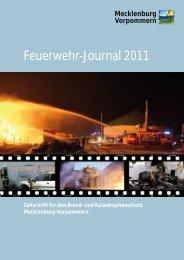 Feuerwehr-Journal 2011 - Regierungsportal Mecklenburg ...
