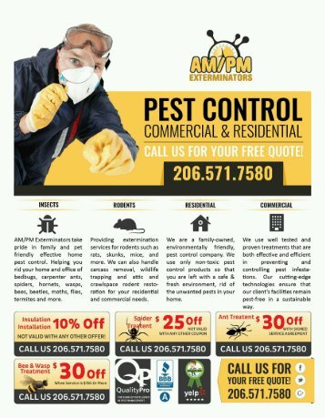 SEATTLE PEST CONTROL SERVICE