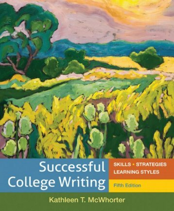 Successful College Writing Skills kathleen t mcwhorter