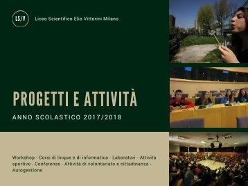 Dépliant Progetti e Attività a.s. 2017/2018