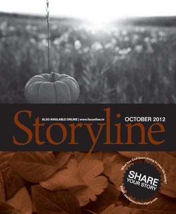 Storyline Fall 2012