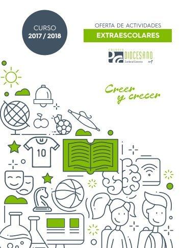 Oferta de actividades extraescolares 2017-2018