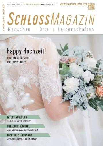 SchlossMagazin Bayerisch-Schwaben Oktober 2017