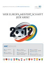 08 MICdepot - Münchner Investment Club GbR (MIC)
