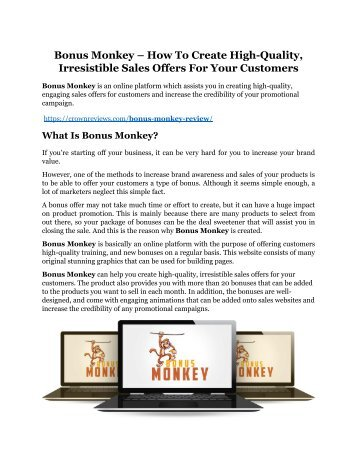 Bonus Monkey review - Bonus Monkey (MEGA) $23,800 bonuses