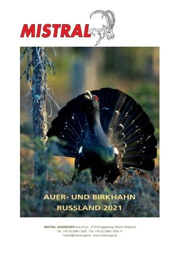 Auer- und Birkhahn 2019