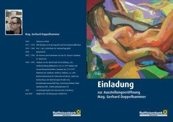 Mag. Gerhard Doppelhammer Malerei