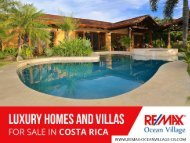 Luxury Homes for Sale in Costa Rica