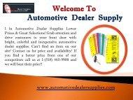 Retail Dealer Starter Kit