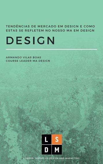 Tendencias de Mercado em Design  - PT