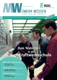 Ausgabe 99 / 07.2006 - Kernkraftwerk Gundremmingen GmbH