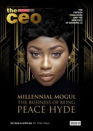 The BusinessDay CEO Magazine_September 2017 Issue