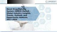 Novel Drug Delivery System Market