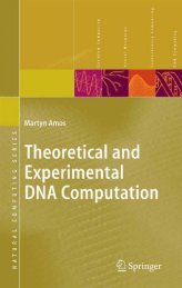 Theoretical and Experimental DNA Computation (Natural ...
